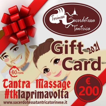 copy of Gift Card Tantra Novizio Torino 2021